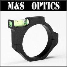 ФОТО 34&35mm ring mount with level ball airsoft gun rifle scope bubble level mount rings for 1 inch rifle scope tube for hunting
