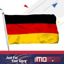 MOFAN 3×5 Foot German Polyester Flag,Die Deutsche flagge 90x150cm country German Flags Polyester