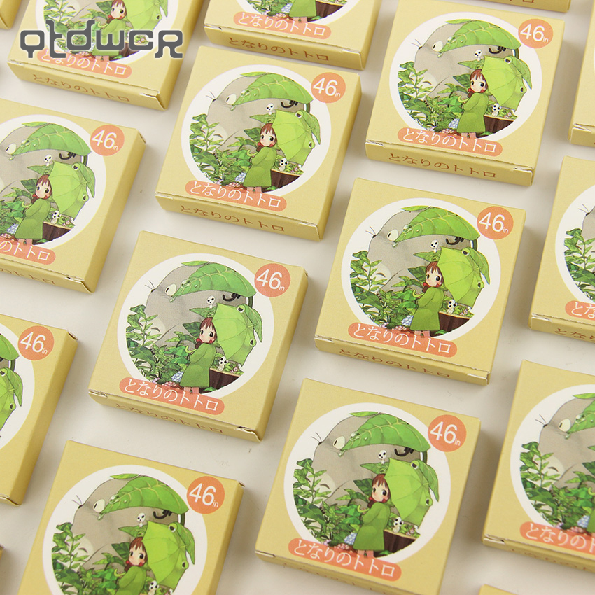 92PCS/2packs Cartoon Totoro Diary Stickers Post it Kawaii Planner Scrapbooking Sticky Stationery Escolar School Supplies 45pcs lot cute cup of animals diary sticker post it kawaii planner scrapbooking sticky stationery escolar school supplies