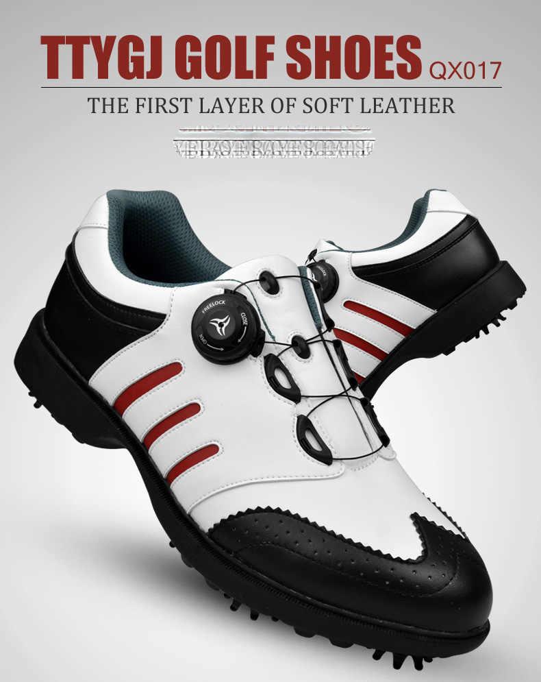 גבוהה באיכות גברים גולף נעלי גברים אביב ובסתיו לנשימה גברים נעלי ספורט מקצועיות