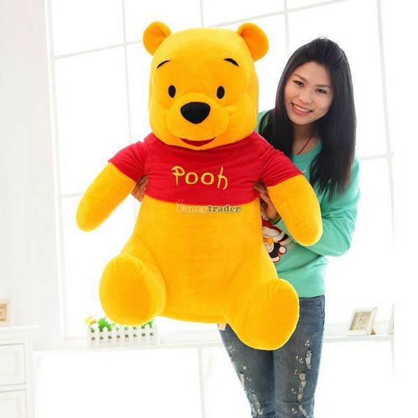 Fancytrader Biggest 39\'\' 100cm Giant Stuffed Cute Winnie Bear, Free Shipping FT50222 (1)