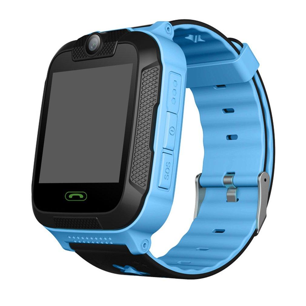 Enfants enfants jouet talkie-walkie montre intelligente 1.4 'écran tactile 3G podomètre SIM suivi en temps réel GPS poignet montre électronique Gf - 3