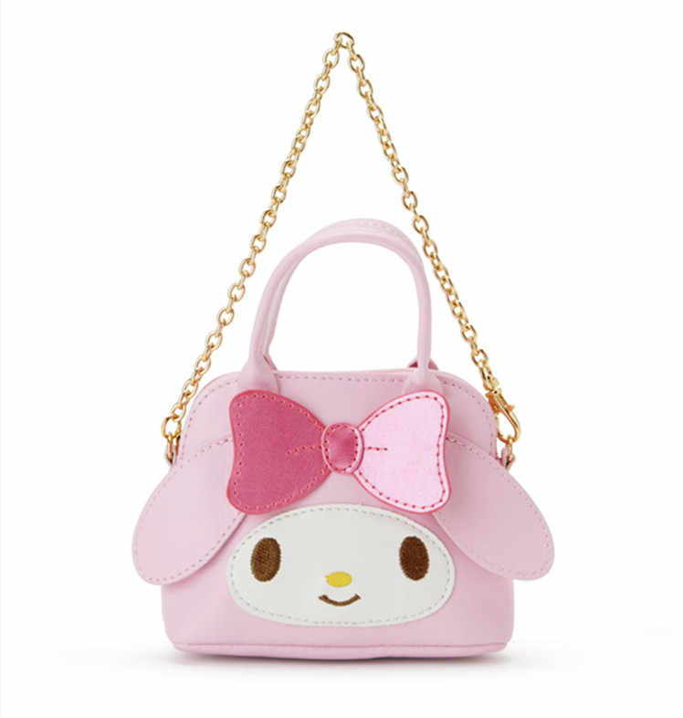 c4ab9d466 ... Cute Hello Kitty My Melody Cinnamoroll Kuromi PU Leather Coin Purse  Wallet Girls Mini Tote Bag ...