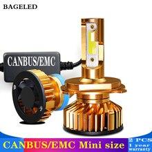 Баж светодиодный мини Canbus H4 светодиодный H7 светодиодный фар автомобиля 12 V 8000LM 4300 K 6000 K 8000 K 5000 K лампа H3 H1 9005 HB3 9006 HB4 H8 H11 лампочка
