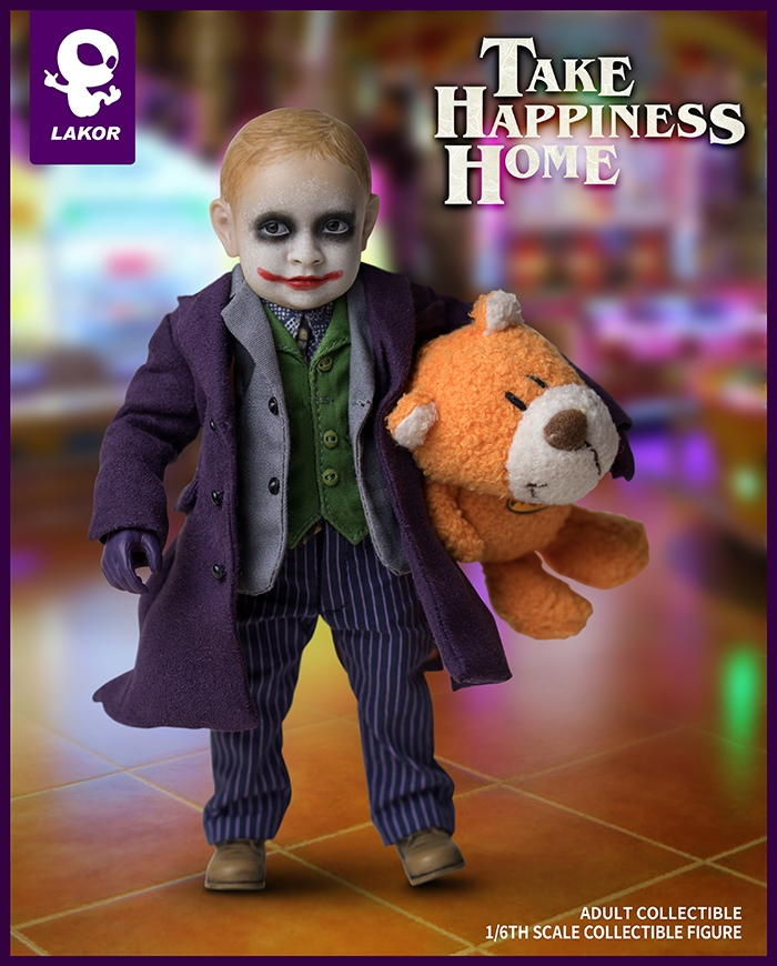 1/6 Scale Take Happiness Home Collectible Full Set 15cm Lakor JOKER Baby 2.0 Boy Action Figure Doll Model for Fans Colelction Gi 2