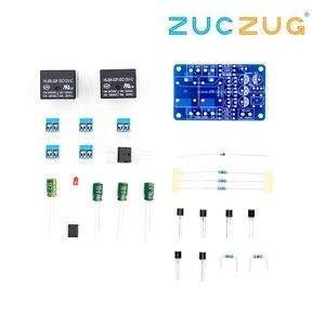 Image 2 - Защитная плата для динамика, компонент аудиоусилителя, DIY задержка загрузки DC Protect DIY Kit для стереоусилителя, двойной