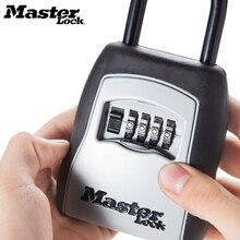 Cadeado com espaço para guardar chaves, mestre para portas de áreas externas, armazenamento de segurança