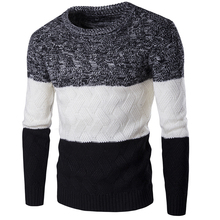 Pullover Men Direct Selling New Arrival O-neck Casual Pullovers 2017 Men's Winter Thick Warm Sweater