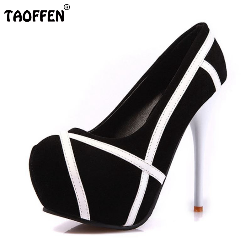 Women High Heels Wedding Shoes Ladies Inside Platform Mix Color Shoes Thin Heel Party Pumps Heeled Footwear Size 34-43 cicime women s heels thin heel spikes heels solid slip on wedding fashion leisure casual party dressing high heel platform pumps