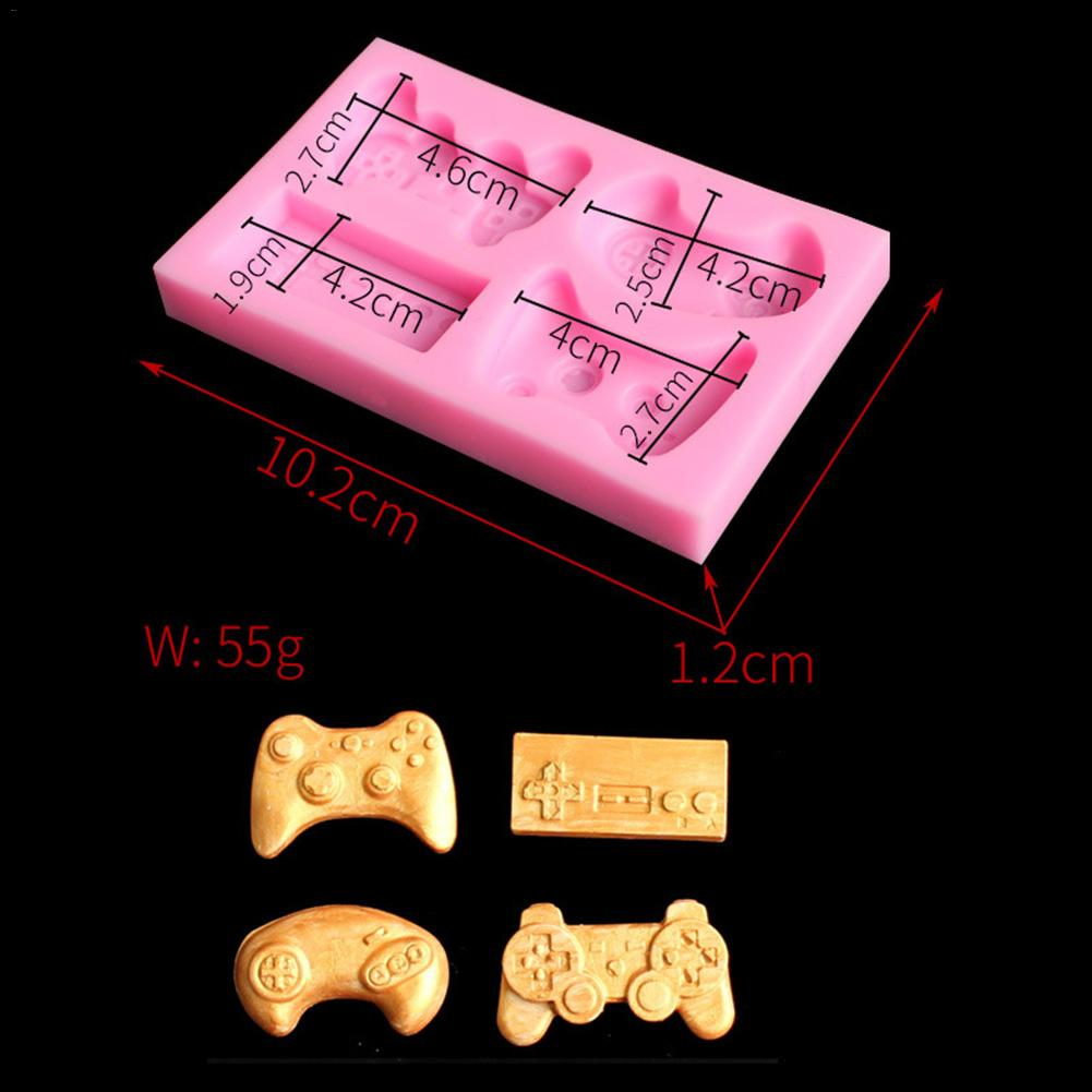 Practical Silicone Bakeware Mold For Cake Chocolate Jelly Pudding Dessert Molds Game Controller Shape Home Kitchen Baking Tools