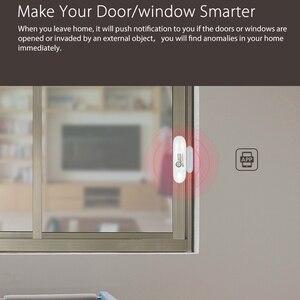Image 4 - 1/2/3/4 шт./лот NEO COOLCAM Wi Fi умный датчик двери окна Сенсор приложение уведомления безопасная домашняя дверь/оконный датчик