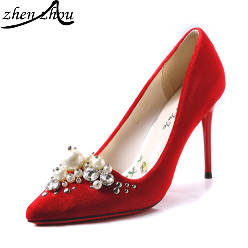 Sizzling Hot Red Bridesmaid Shoes