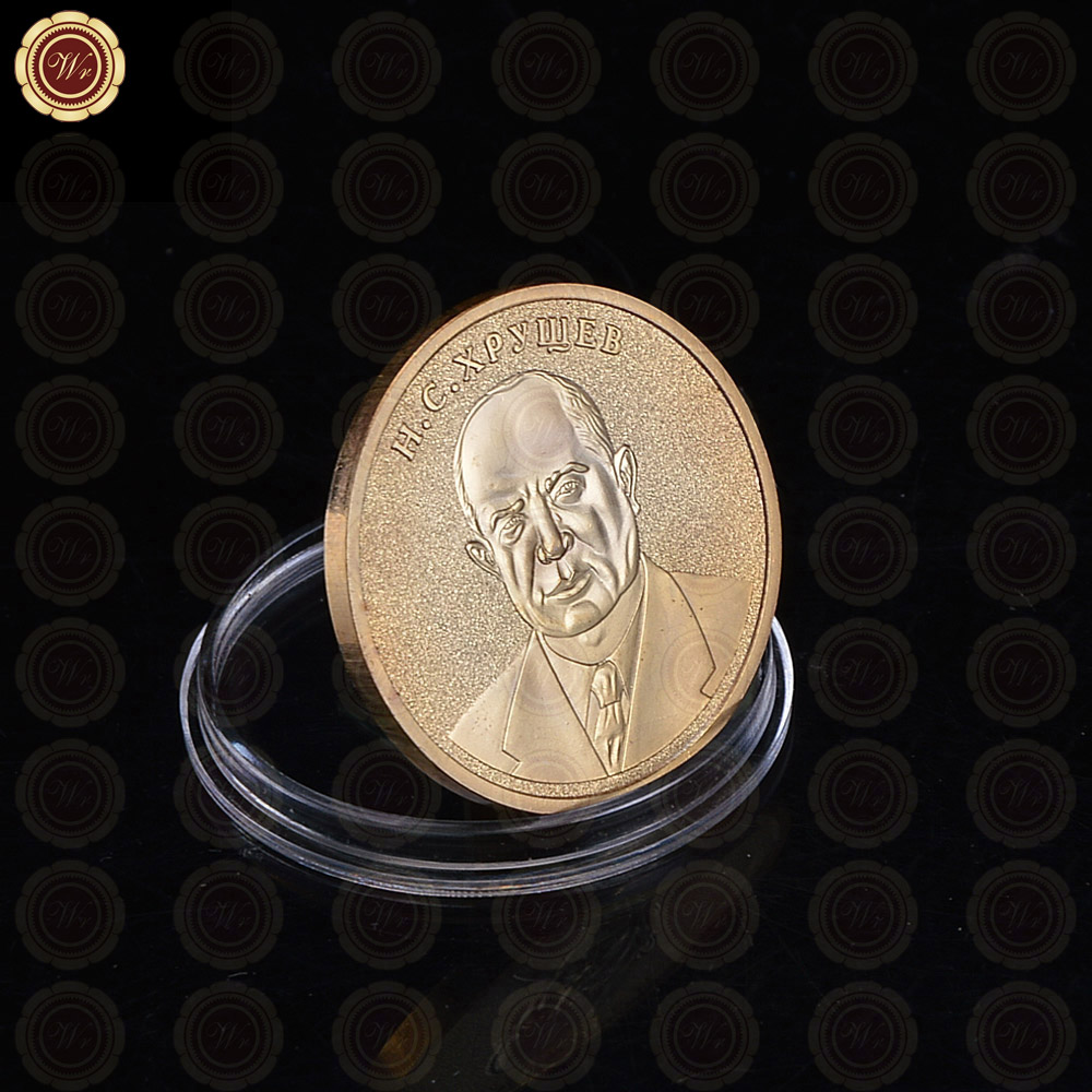 Αντιγραφή CCCP Bimetallic Ρωσία Επανάσταση κέρματος USSR Χρυσό δώρο σουβενίρ