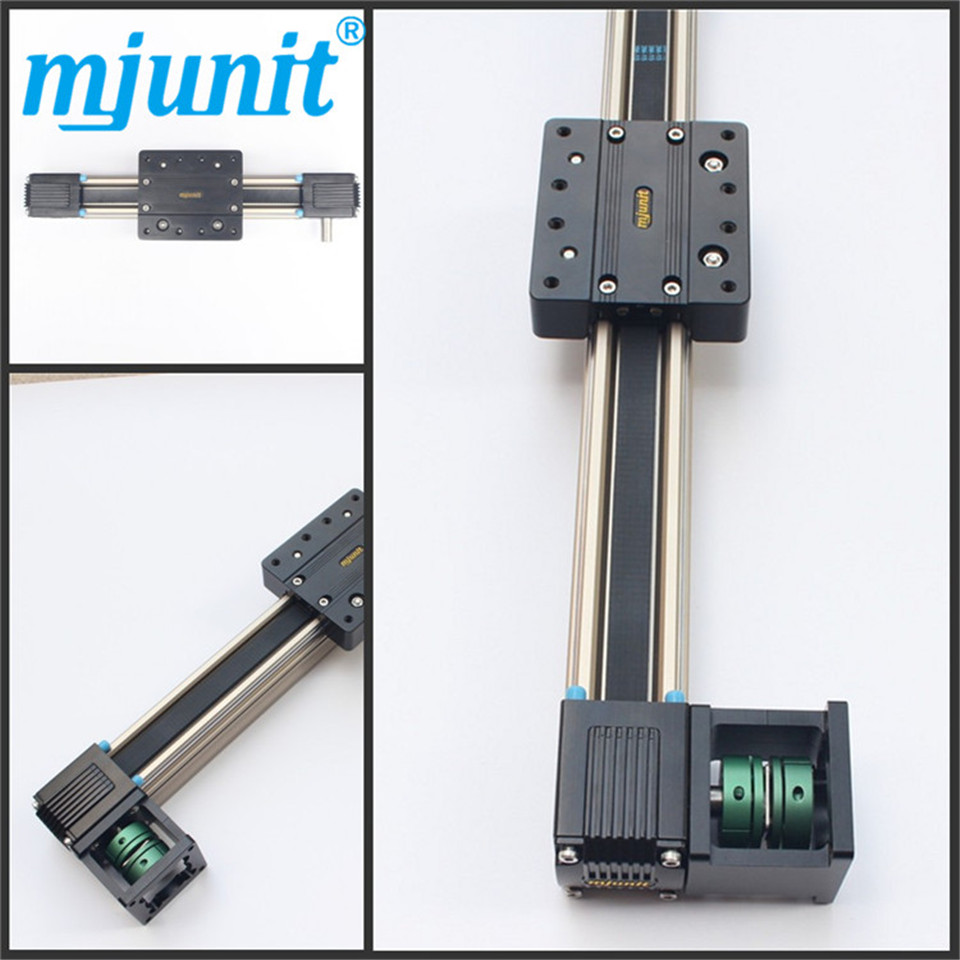 Linear Shaft Support Rail Aluminum Alloy / Linear Motion Ball Slide Unit Guide/ Linear Belt Drive Rail belt driven linear slide rail belt drive guideway professional manufacturer of actuator system axis positioning