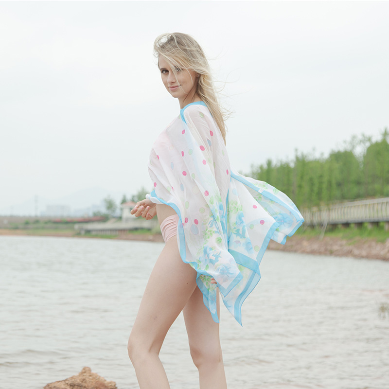 Reizen Outdoor Vakanties Vrouwen Zonnebrandcrème Sjaal Strandlaken - Kledingaccessoires - Foto 5