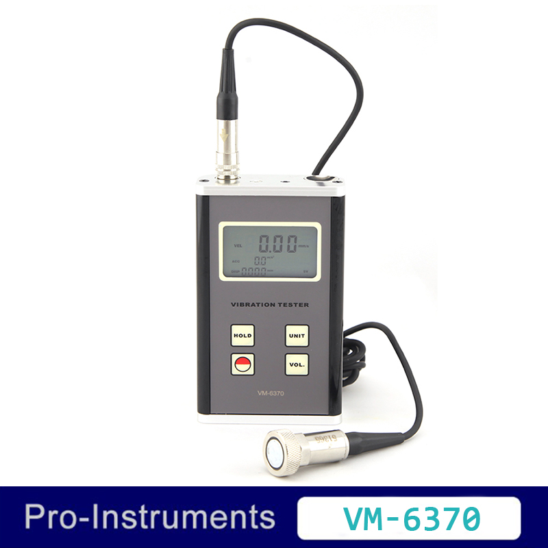 Landtek VM6370 Machines En Mouvement Déséquilibre et de Renvoi Tester Vibromètre Numérique Vibration Meter