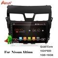 Para android Nissan Altima 2013-2015 car dvd player GPS com 3G/Wi-fi/GPS Navi/Rádio FM/AM/Bluetooth/Multimedia/USB/SD/AUX/RDS