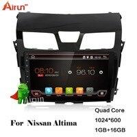 Per android Nissan Altima 2013-2015 car dvd player con GPS 3G/WiFi/GPS Navi/FM/AM Radio/Bluetooth/Multimedia/USB/SD/AUX/RDS