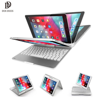 DUX DUCIS Wireless Keyboard Case for iPad air 3 2019 ABS Keyboard Tablet Cover for iPad air 2019 Pro 10.5 2017 + Pencil Holder