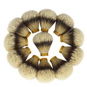 Image 5 - 26mm/67 meilleur silvertip blaireau cheveux hommes barbe brosse tête rasage brosse noeud pour 26mm poignée