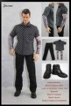 "Dollsfigure 1/6 Clothing-THE GANGS JAPAN Tattoo Full Set for HOT TOYS for 12"" Collectible action Figure freeshipping"