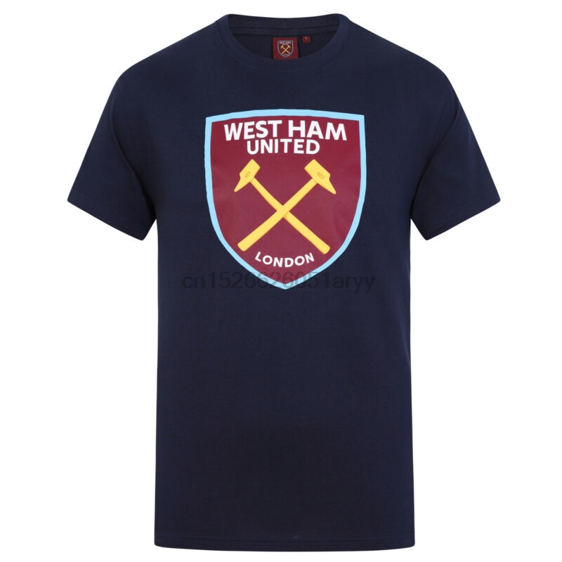 c15e6aac5e1 Detail Feedback Questions about West Ham United Football Club Soccer Gift  Mens Crest T Shirt on Aliexpress.com | alibaba group