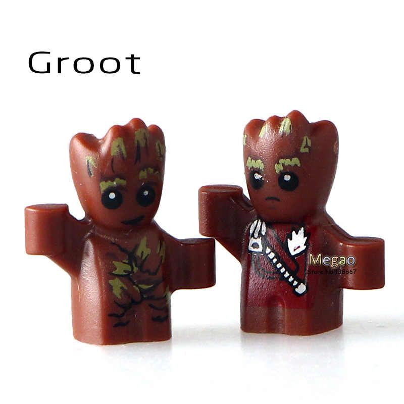 Building Block Single Sale  Baby 1cm 2017 NEW Guardians of the Galaxy Vol.2 76081 Milano Super Heroes DIY Toys