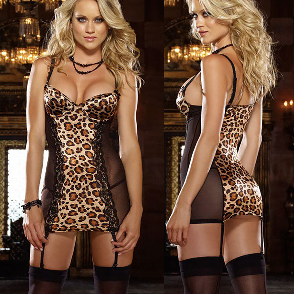 Women Sexy Sheer Lace Mesh Straps Jumpsuit Bodysuit Tops Clubwear