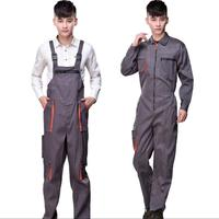 S 4XL Overall work pants men and women spray paint outdoor engineering auto repair bib pants coverall repairman strap clothing