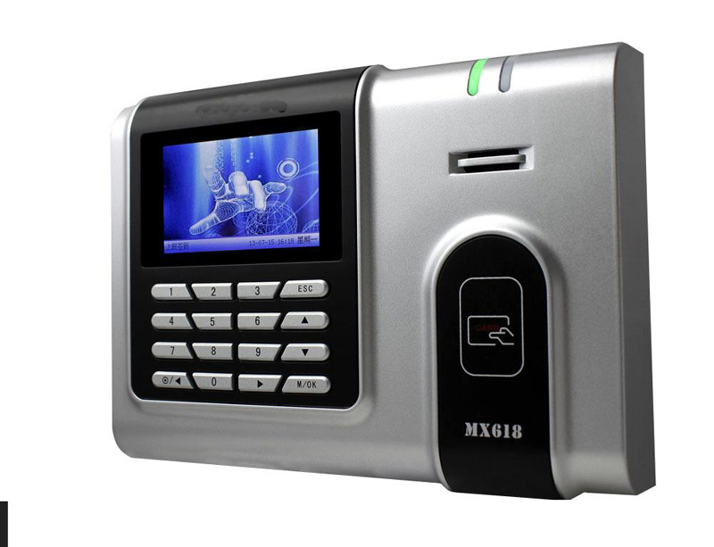 TCP/IP 125Khz EM Card Time Clock 125Khz RFID Card Time Attendance With Free Software 125khz proximity rfid card time attendance 125khz em card time clock with tcp ip
