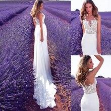 Fabuloso tul transparente con escote de Joya, vestido de novia 2 en 1 con apliques de encaje y falda desmontable, vestidos de novia rosas de dos piezas