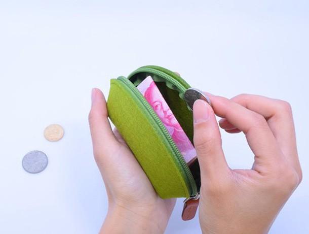 coin purse mini change wool wallets purses women (6)