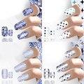 Nail Art Наклейки Декор Маникюр Советы Обертывания DIY Украшения Специальный 16 Листов