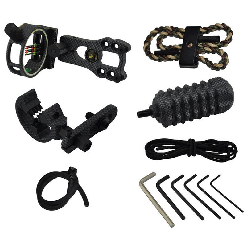 Image 5 - Archery Essential Compound Bow Accessories TP1000 Archer Upgrade Combo Sight Kits Shooting Hunting Set-in Bow & Arrow from Sports & Entertainment