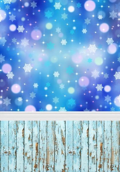 Vinyl cloth print pink blue facula snowflakes photographic backgrounds for photo studio portrait photography backdrops F-471 custom vinyl cloth 3d wedding church hall photographic backgrounds for party photo studio portrait photography backdrops cm 4021