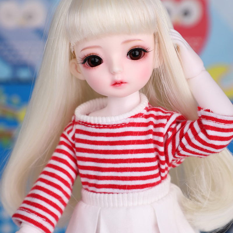 New Arrival 1/6 BJD Doll BJD/SD Fashion Cute BambiCrony VANILLA Resin Doll With Make Up For Baby Girl Brithday Gift Full Set beiens furniture doll 19 pcs children kids baby girl s cute lovely toy fashion makeup chair make up table set dresser