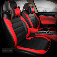Custom car seat cover for renault logan 2 megane 3 laguna 2 sandero fluence symbol kadjar kangoo sander Car accessories