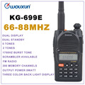 66-88MHz WOUXUN KG-699E Dual Display Dual Standby FM Portable walkie talkie Two-way Radio