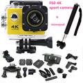 Original Action Camera 4K F60 wifi Sports extreme Mini Cam Recorder Marine Diving go action pro camera sport camera+free monopod