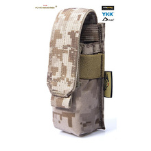 Genuine FLYYE MOLLE Single 9mm Mag Pouch Ver.FE In stock Military camping modular combat CORDURA P004 in stock flyye genuine molle micro single lens camera bag cordura bg g033