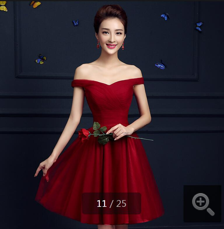2016 Stylish A Line Short Tulle Pleated Corset Cocktail Dresses