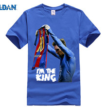 0a1898b2153 GILDAN T-shirt for Lionel Messi fans new design The King 500 goals T Shirt