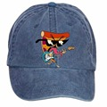 Unisex Uncle Grandpa DIY Adjustable Baseball Hat Denim Baseball Cap Pupils Hats Boy Girls Casual Baseball Hats Peaked cap