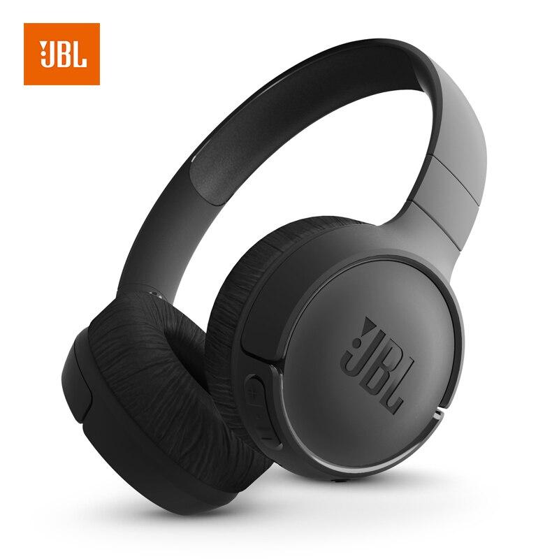 JBL Tune 500BT Powerful Bass Wireless On-Ear <font><b>Headphones</b></font> with Mic JBL Pure Bass Sound 16H Battery Life Foldable Headset Earphones
