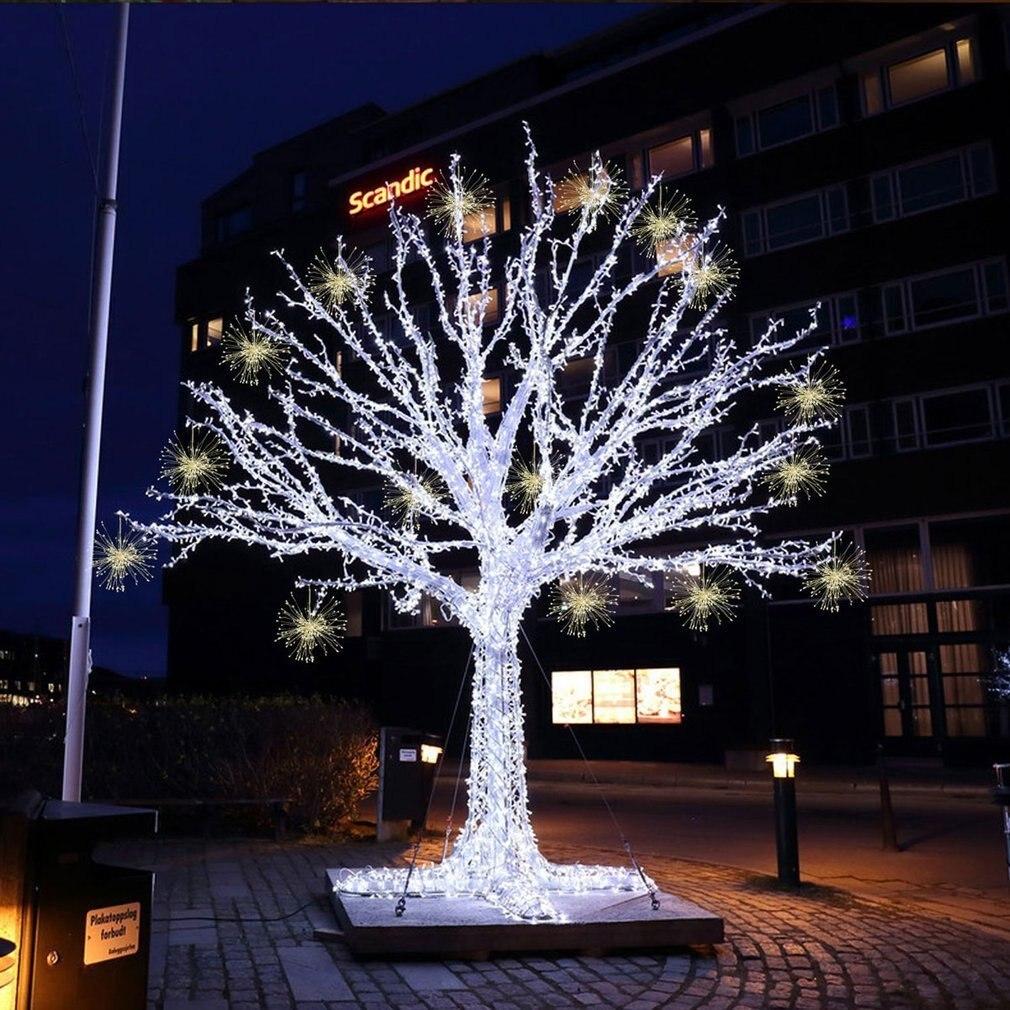 гирлянды на деревья светодиодные фото течением времени