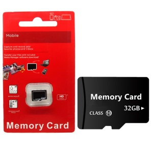 memory card red Blister micro sd card 32 GB class 10 TF card mini flash memory 4GB/8GB/16 GB/32 GB