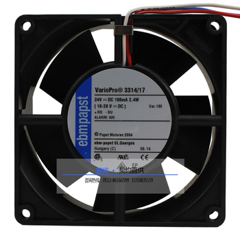 NEW ebmpapst PAPST 3314/17 9232 24V 2.4W VaPro bearing DC cooling fan