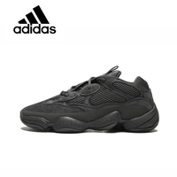 Original New Arrival Official Adidas Yeezy 500 Utility Black F36640 U Unisex Breathable Running Shoes Sport Outdoor Sneakers