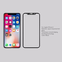Nillkin Screen Protector For Iphone X Fully Cover CP Max 3D Round Edge Thin For Iphone