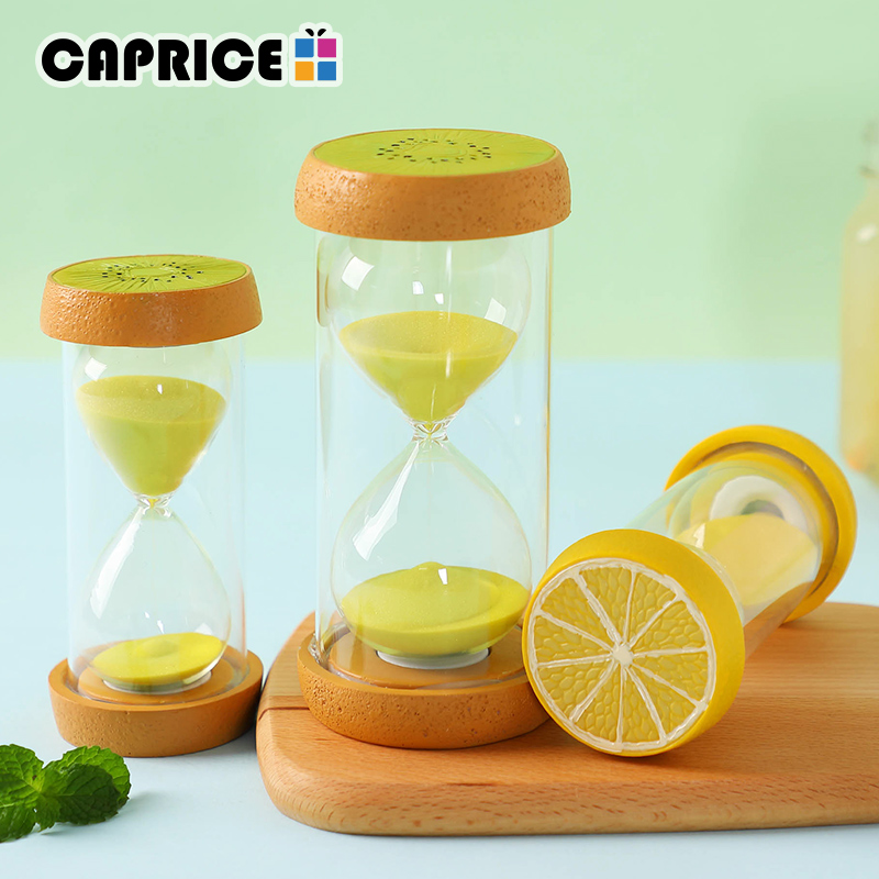 Learning & Education Toys & Hobbies 15 Minutes Hourglass Fruit Timer Clock Creative Desk Ornaments Kitchen Home Decoration Children Gift
